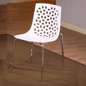 Plastic Dining Chair YGDCD-849B/W/R Setia Alam KL