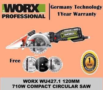 Worx 120mm 710w Compact Circular Saw WU427.1