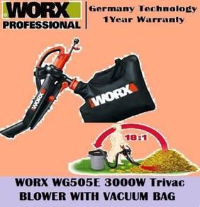 WORX TriVac Blower, Mulcher, Vacuum WG505E