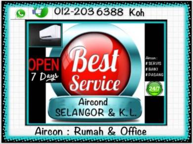 Aircond Murah aircon KL/SEL- Country Heights dll
