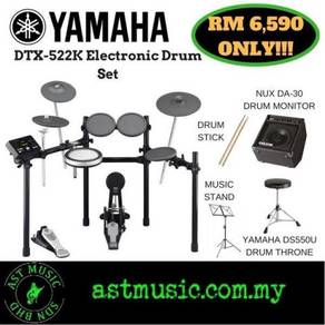 Yamaha Dtx-522k dtx522k Electronic Drum W Monitor