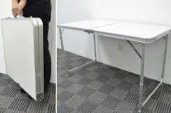 Meja lipat mudah bawa