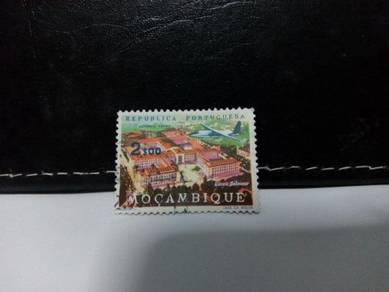 1962 Mozambique Stamp, Aeroplane
