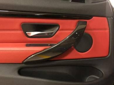 BMW F30 F32 Carbon Fiber Interior Door Handle
