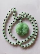 Lucky Charm - Pixiu Necklace - Green