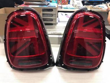 Bmw mini f55 f56 lci union jack tail lamp set