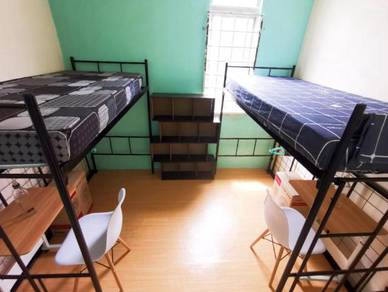 Fully Furnished Room for 2 Ladies| Free carpark| Free Utilities