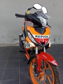 Promosi loan kedai deposit  honda rs150