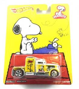 Hotwheels Pop Culture Peanuts Snoopy Convoy Custom
