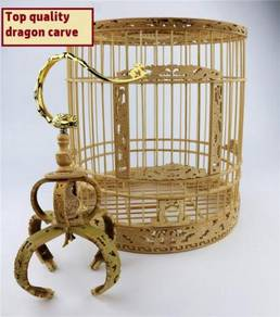 Top Grade Bamboo Dragon Bird Cage, Sangkar Burung