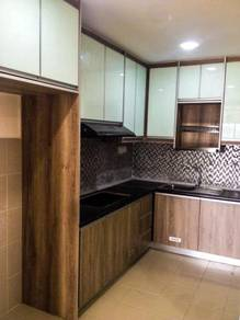 Kitchen,wardrobe ,tv panel : klang, Shah alam 54