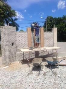 Kepakaran Servis Mebina rumah or pagar
