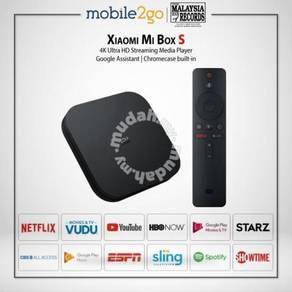 Xiaomi Mi Box S - 4K Ultra Steaming Media Player