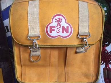 Antique Vintage F&N Bag / Sling Beg F & N