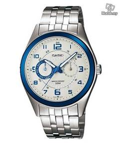 Watch- Casio Multi Hands MP1353-8B1 - ORIGINAL