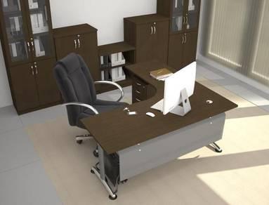 Manager Executive Table-Desk Set PLT1818 puchong