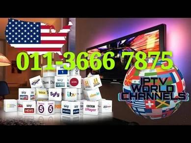 Maxi 20000+ Uhd Android Meg TV Box new itpv
