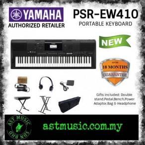 Yamaha PSR-EW410 ew410 Keyboard Package