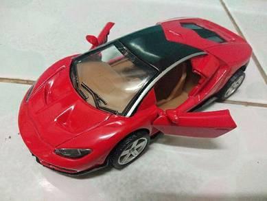 1:36 Lamborghini alloy diecast with lights