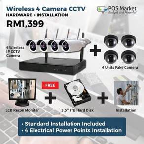 Security Camera Wireless IP CCTV & Installation JB