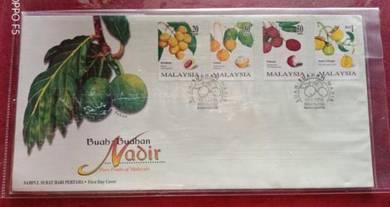 FDC Buah-Buahan Nadir Malaysia 1998