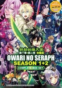 DVD ANIME Owari no Seraph Season 1-2
