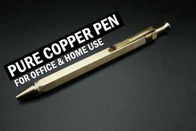 Pure Copper Pen II | Pen Tembaga Asli