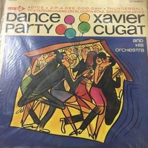 119 Piring hitam lp Xavier Cugat not ep