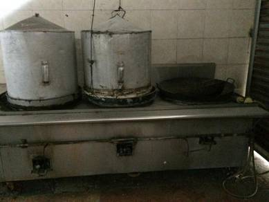 Stainless steel steam equitment