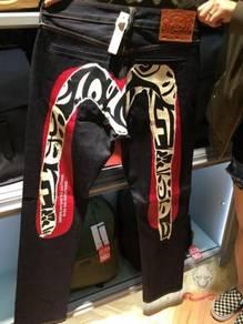 Evisu mascot mask M jeans pants