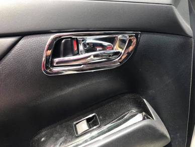 Toyota alphard 2015 2016 chrome inner handle cove