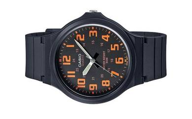 Casio Men Analog Rubber Watch MW-240-4BVDF