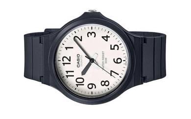 Casio Men Analog Rubber Watch MW-240-7BVDF