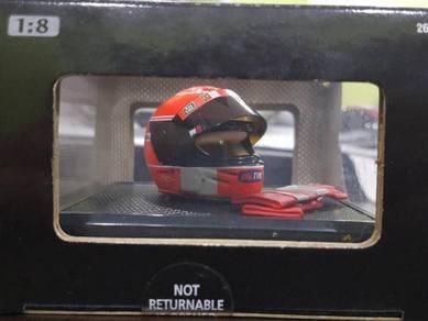 Michael Schumacher F1 Ferrari Helmet