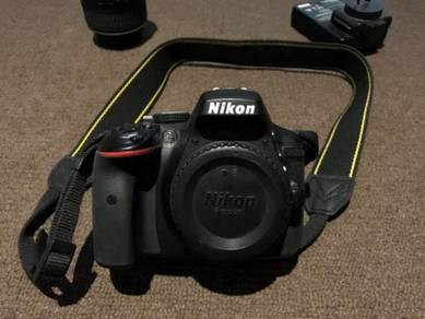 D5300 with lenses