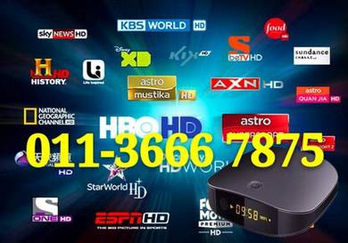 Trillion 20000+ Ultra Android HD Tv Box 4K iptv