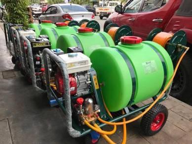 Power Sprayer Pump cw 160L tank & Hose
