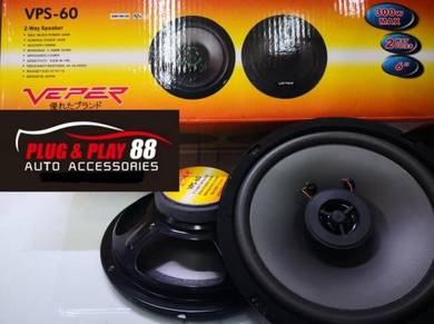 Speaker 300watt viper brand with tweeter