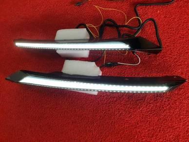 Honda civic fc headlamp led daylight lights drl 1