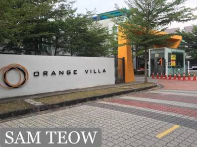 3.5 Storey Terrace Orange villa Phase 1 Strategic Location BM
