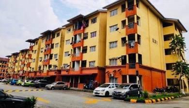 Apartment merak shah alam 850sf tingkat 4