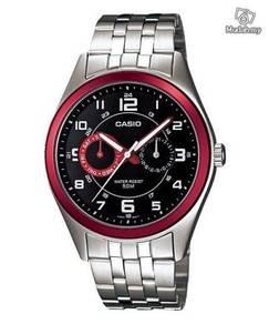 Watch- Casio Multi Hands MP1353-1B2 - ORIGINAL
