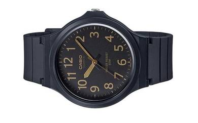 Casio Men Analog Rubber Watch MW-240-1B2VDF