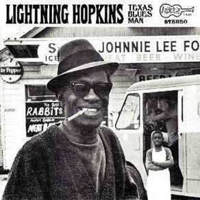 Lightnin' Hopkins Texas Blues Man LP