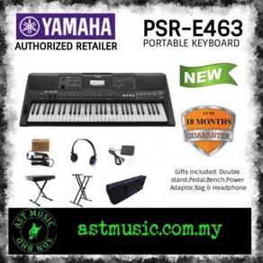 Yamaha PSR-E453 e463 E463 61 Keys Keyboard