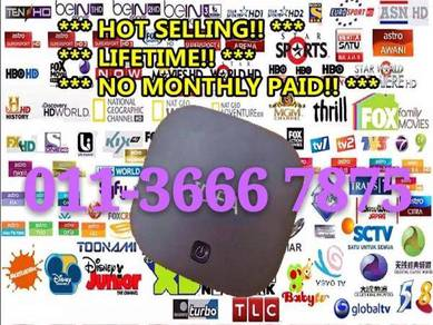 Elite 20000+ World TV Box Uhd Android 4k iptv