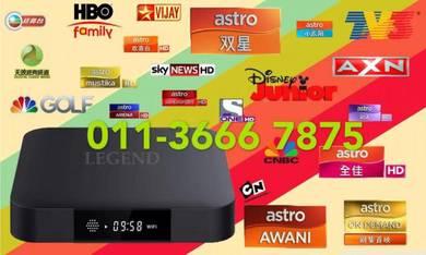 LUXURE 99000+ new tv box msia android oro tvbox