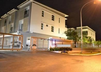 Lush residences lower corner unit. bdc. kempas. jalan durian burung