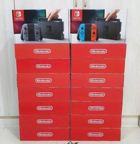 NINTENDO SWITCH CONSOLE (RED/BLUE) /Grey (used)