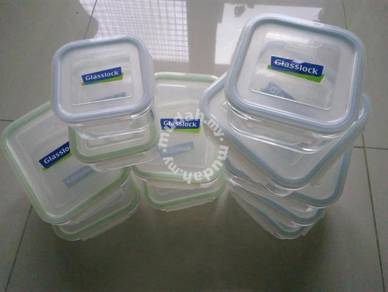 Glasslock Tempered Glass closable Food Container